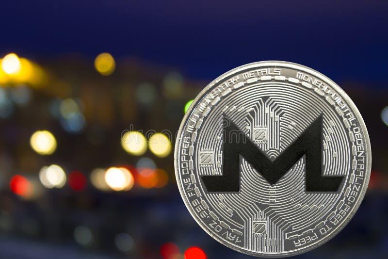 Menniczy cryptocurrency Monero obrazy stock