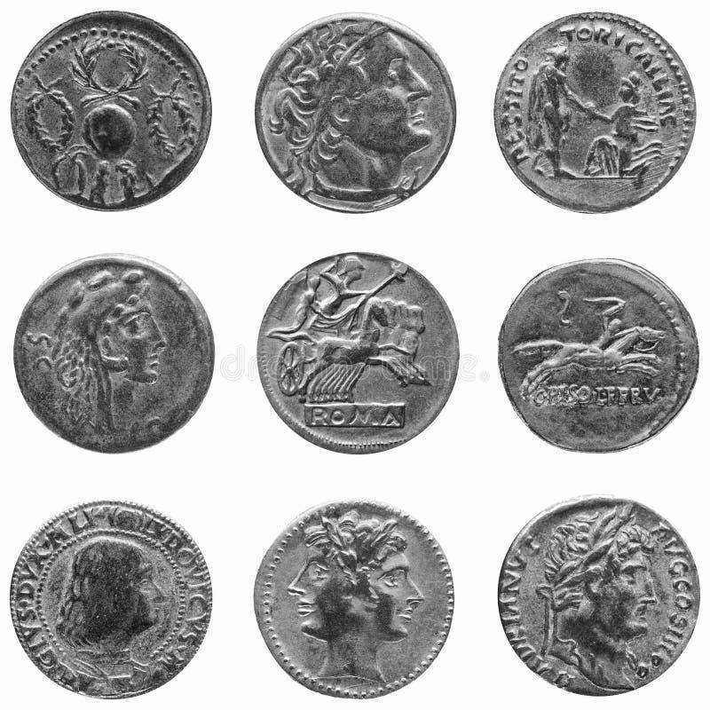 menniczy rzymski obraz royalty free
