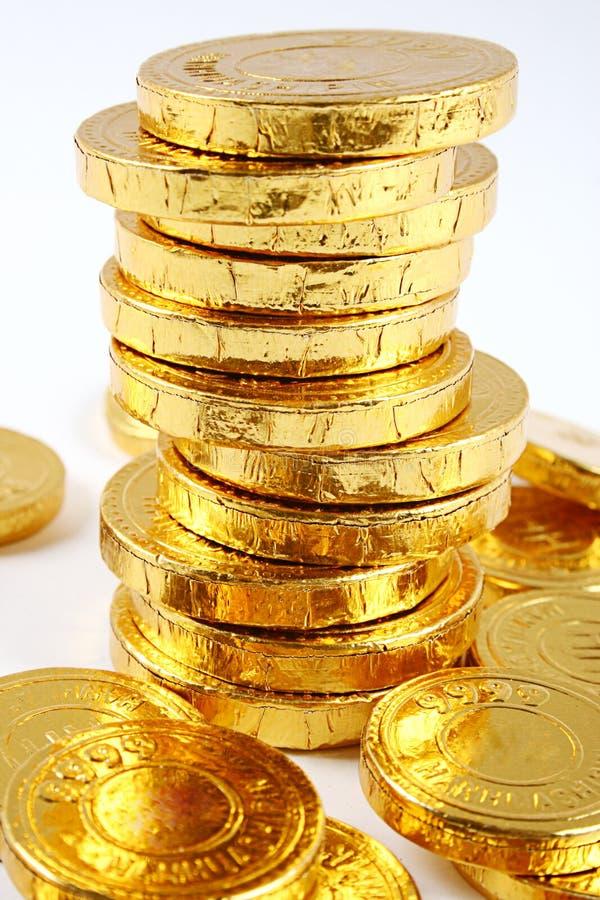 menniczy złoto obrazy royalty free