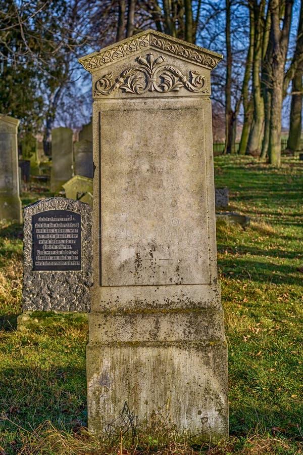 Mennonite cmentarz obrazy stock