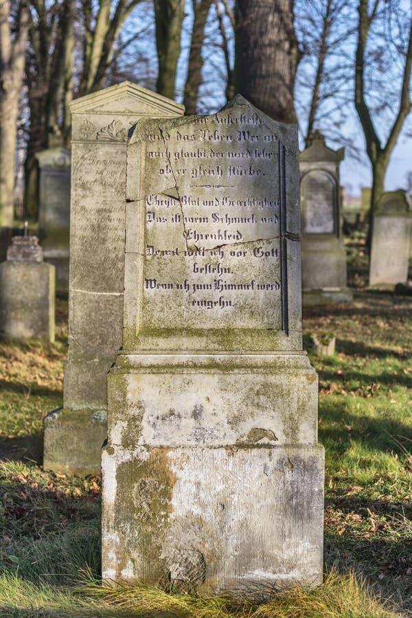 Mennonite cmentarz zdjęcie stock