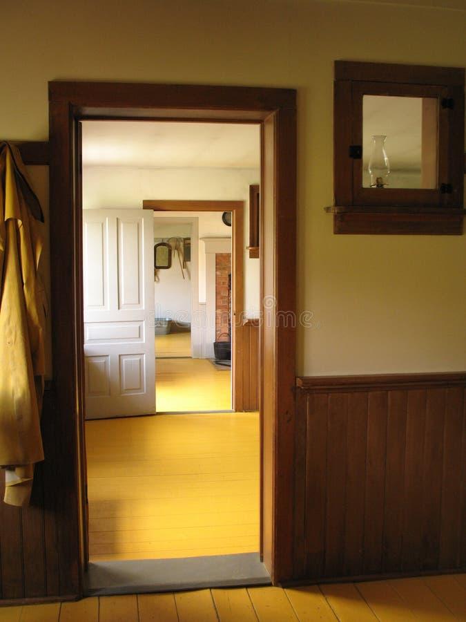 Mennonite Interior stock photography