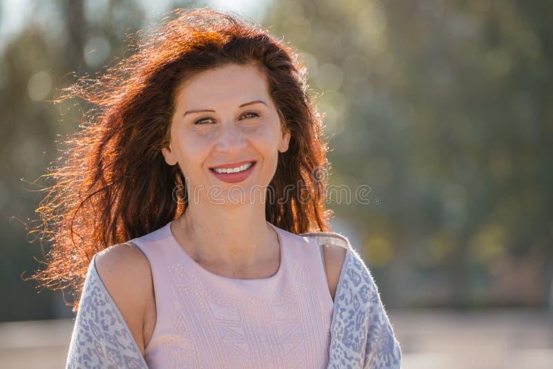 Menopauzalna kobieta obrazy royalty free