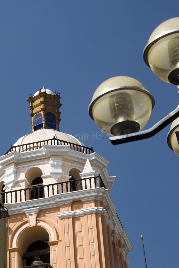 Menor Lima merced de peru da basílica fotografia de stock royalty free