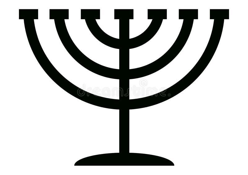 menorah канделябра иллюстрация штока