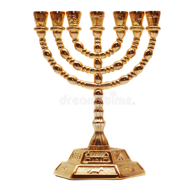Menorah stockfotografie