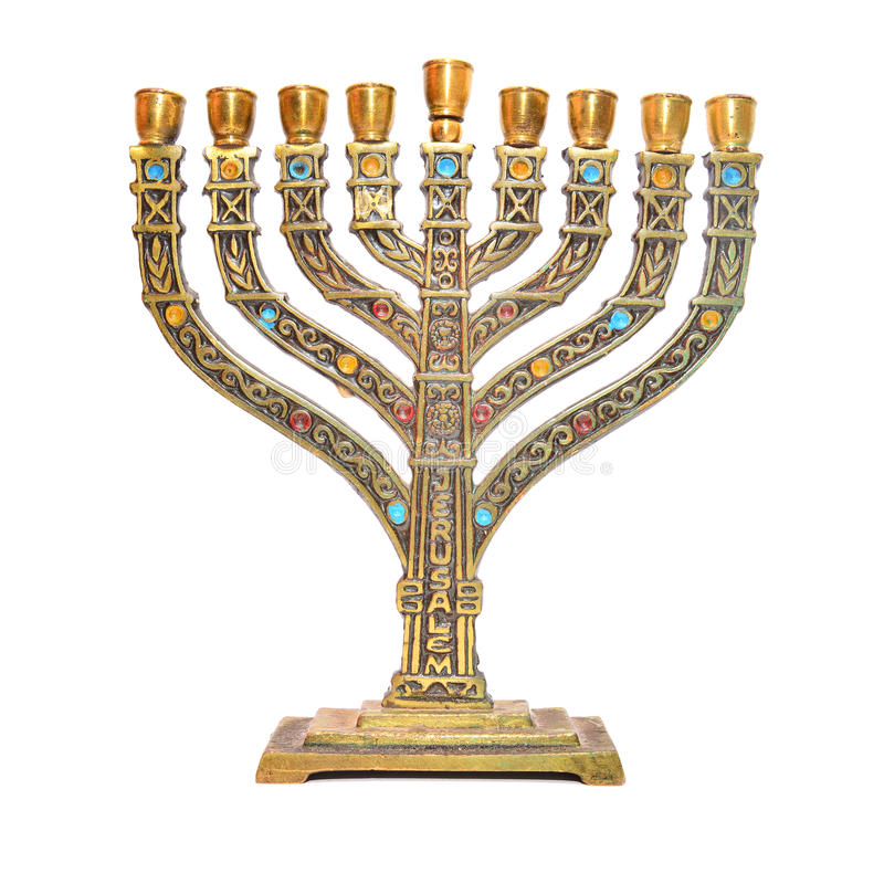 Menorah obrazy royalty free