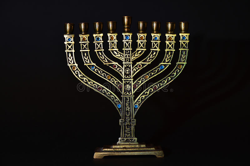 Menorah fotografia royalty free