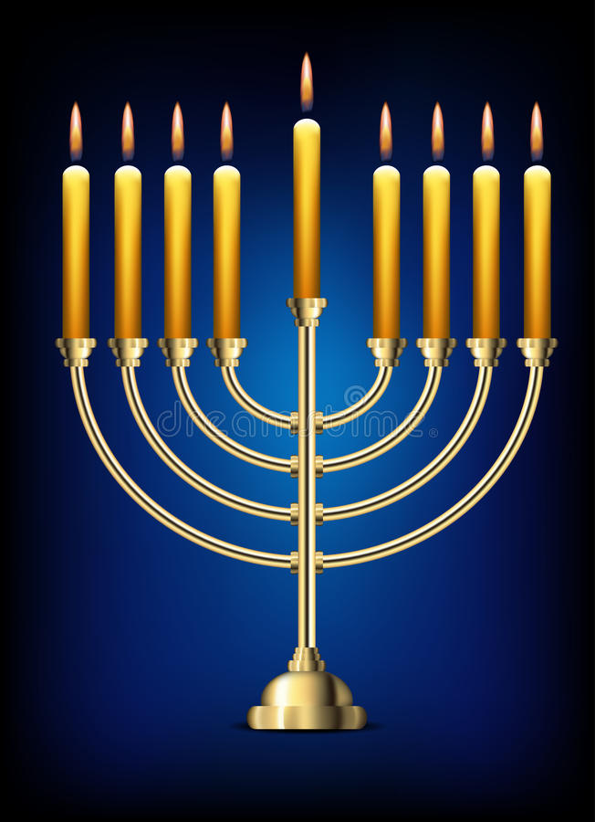 menorah photo stock