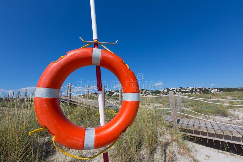 Menorca圆的浮体的Alaior Cala儿子Bou在拜雷阿尔斯 库存图片