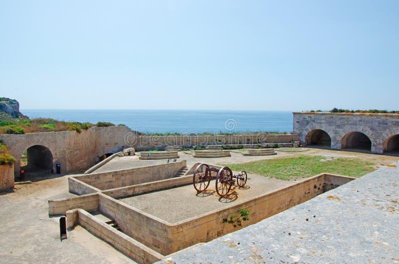 menorca Ισπανία των Βαλεαρίδων Νή& στοκ φωτογραφία με δικαίωμα ελεύθερης χρήσης