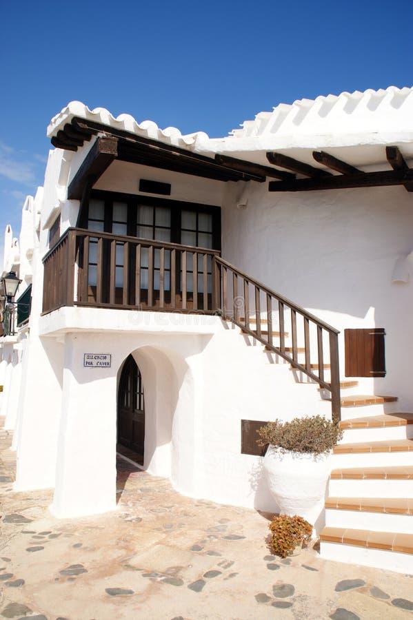 Menorca - de Balearen - Spanje royalty-vrije stock afbeelding
