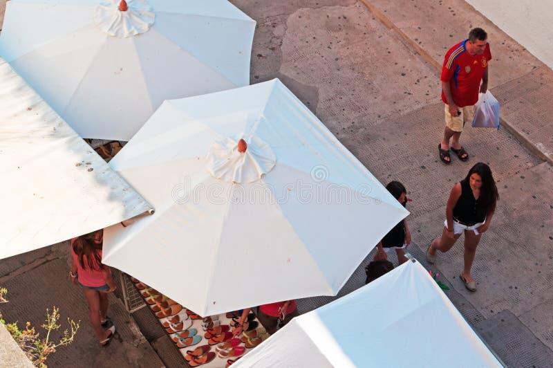 Menorca, de Balearen, Spanje royalty-vrije stock afbeelding