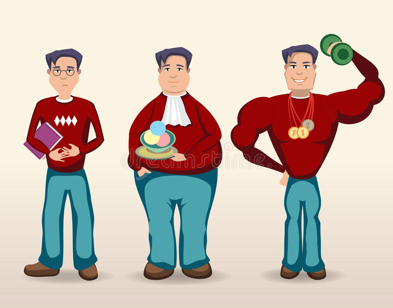 Mens vector illustratie