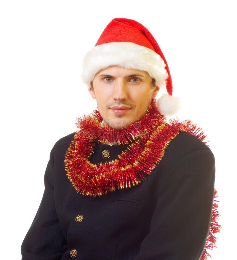 Mens 7 van Kerstmis royalty-vrije stock foto