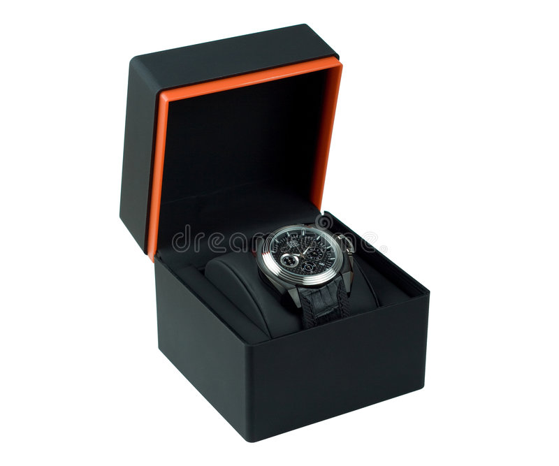 Mens-Armbanduhr stockfotos
