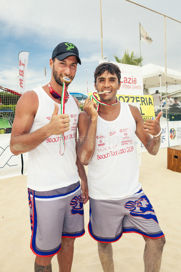 Mens Beach Volleyball Players. Italian National ...