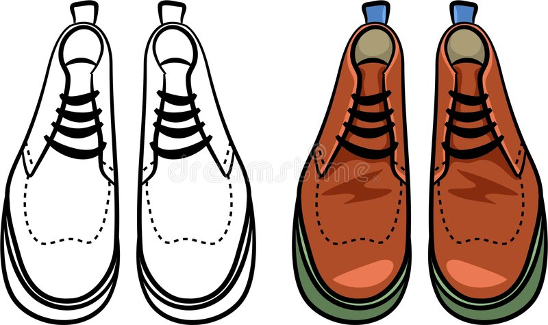 Mens Boots Royalty Free Stock Images