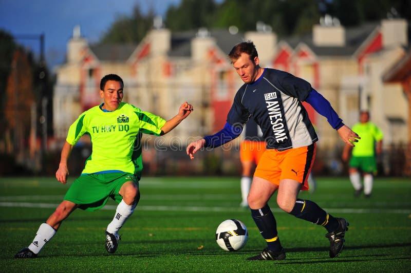 Mens club Soccer royalty free stock image
