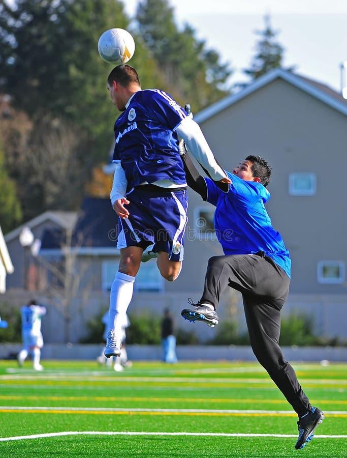 Mens club Soccer goalie save
