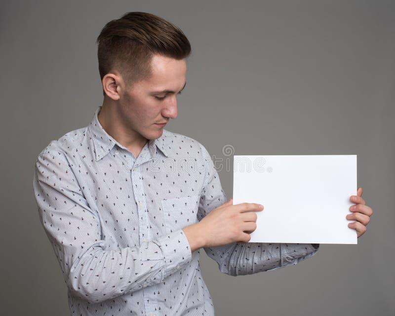 Mens die duim tonen royalty-vrije stock afbeeldingen