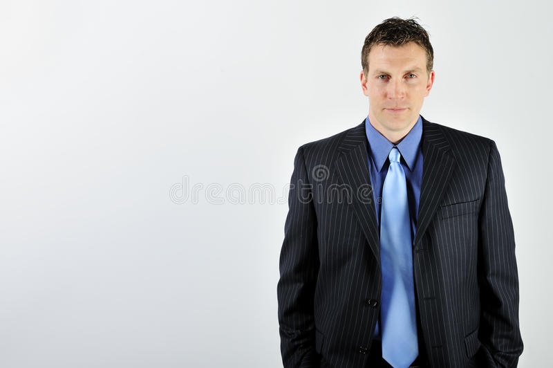 Mens die Kostuum draagt royalty-vrije stock foto's