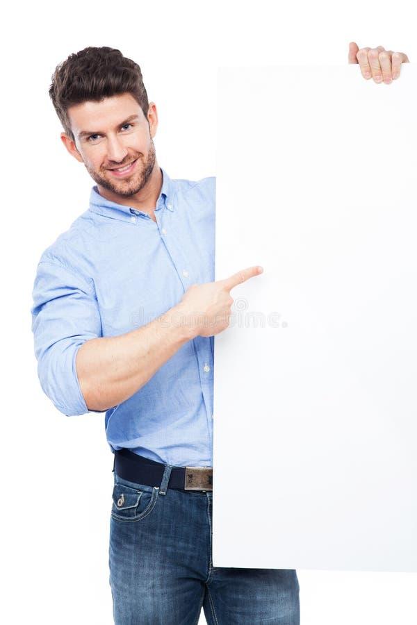Download Mens Die Op Whiteboard Richten Stock Foto - Afbeelding bestaande uit advertentie, knap: 39101156
