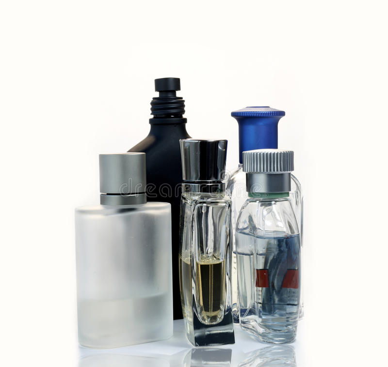 Mens Fragrances stock photos