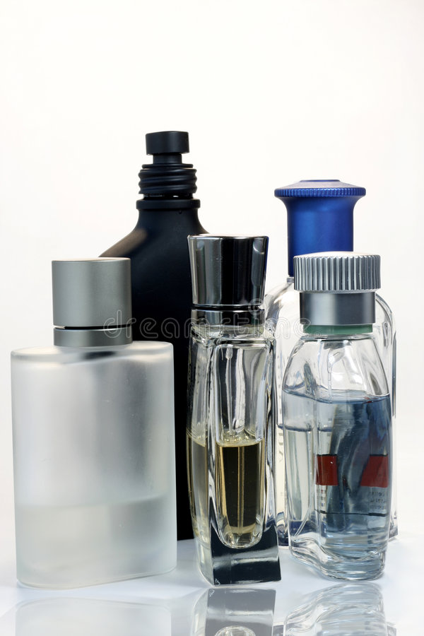 Mens Fragrances III stock photography