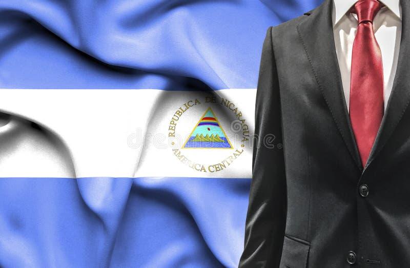 Mens in kostuum van Nicaragua stock fotografie