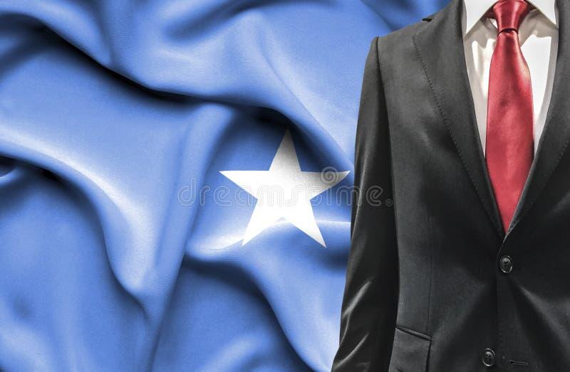 Mens in kostuum van Somali? stock foto