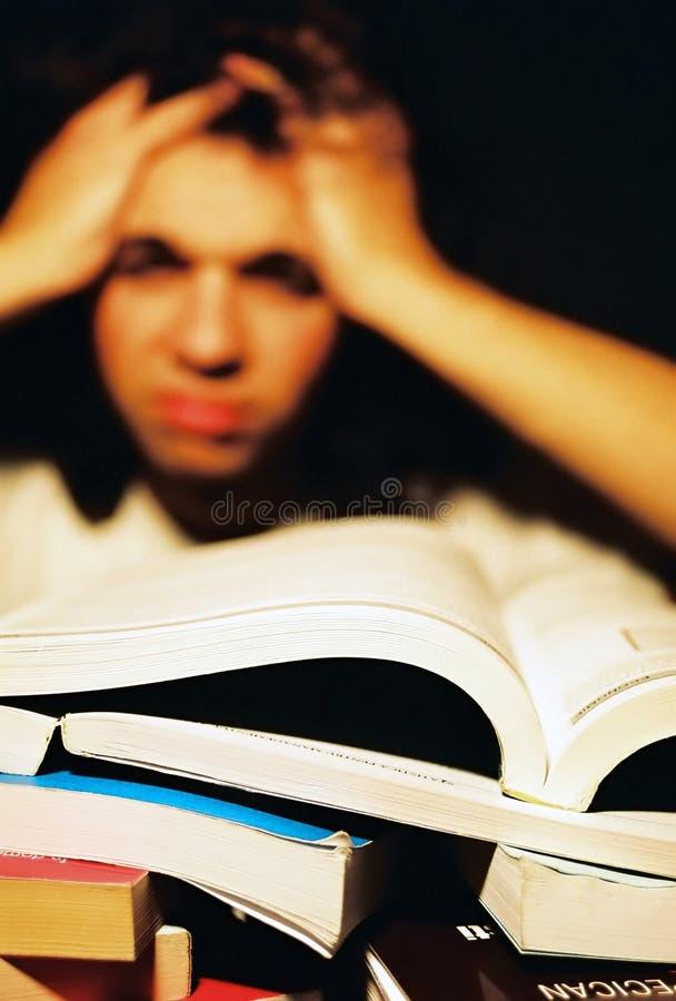 Download Mens met echte problemen stock afbeelding. Afbeelding bestaande uit expressief - 45719
