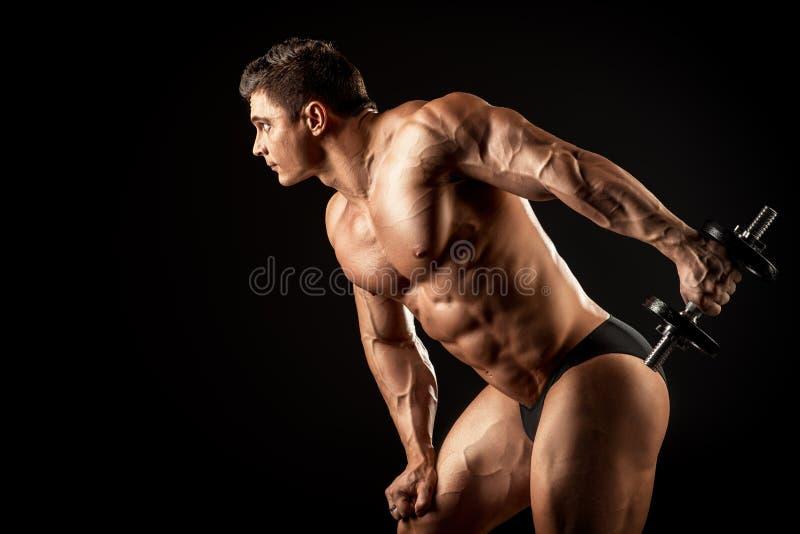 Mens opleiding stock foto