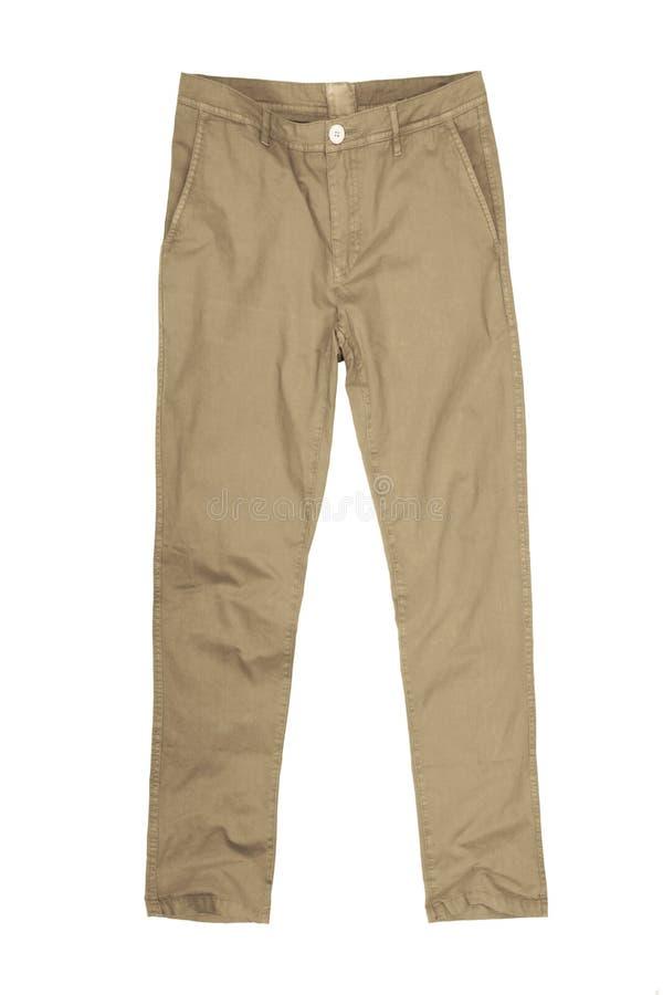 Free Mens Pants Isolated On White Background, Stock Image - 98716291
