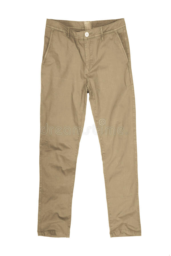 Mens pants isolated on white background,. Mens dress pants trousers isolated against white background stock image