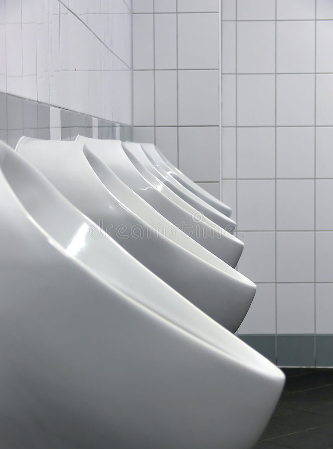 Download Mens room stock image. Image of toilet, urinal, title - 1545703