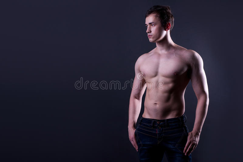 Mens; s lichaam royalty-vrije stock afbeeldingen