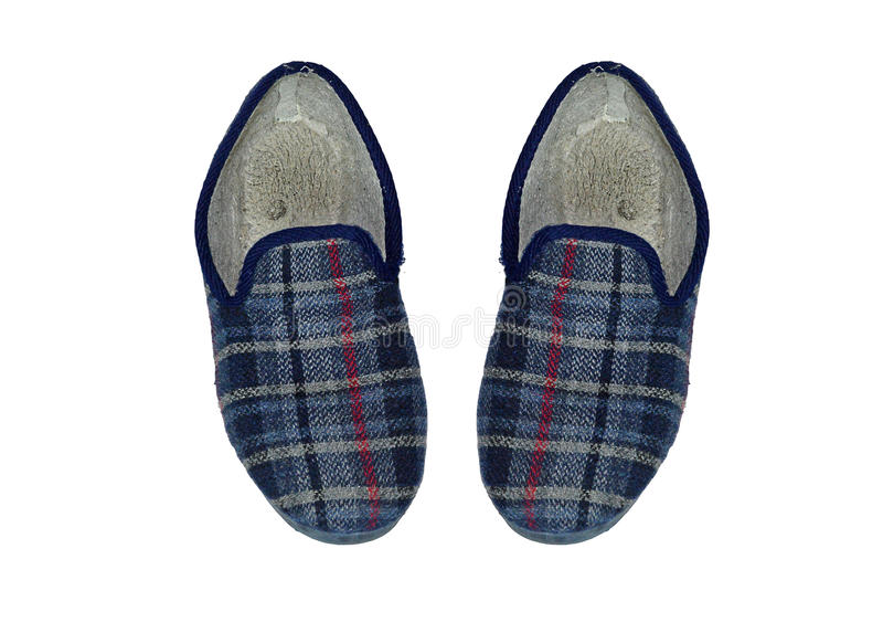 Mens Slippers stock photos