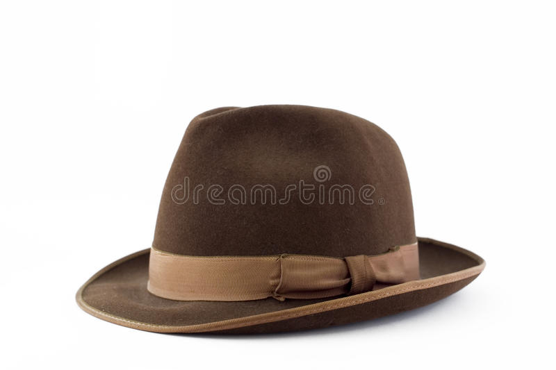 Download Mens suede hat stock image. Image of brown, beige, artistic - 25008823
