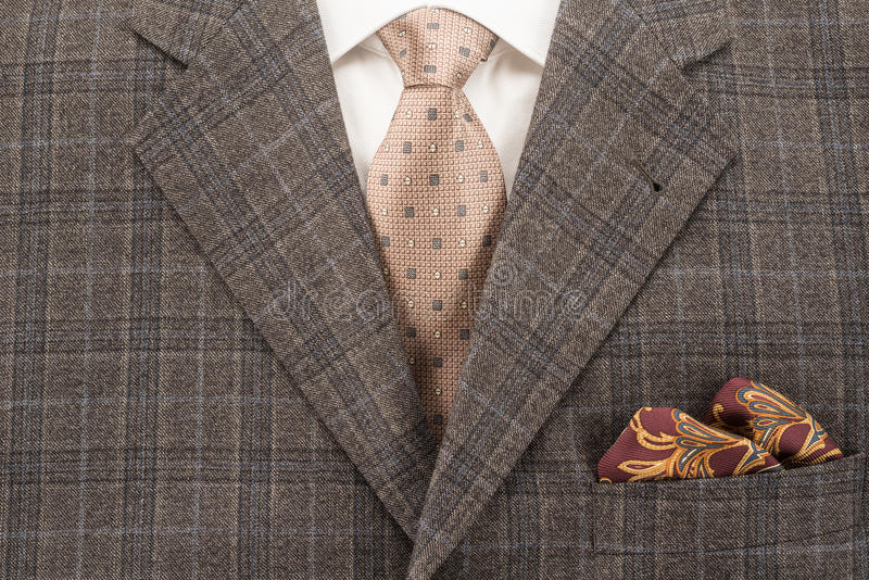 Mens Suit royalty free stock image