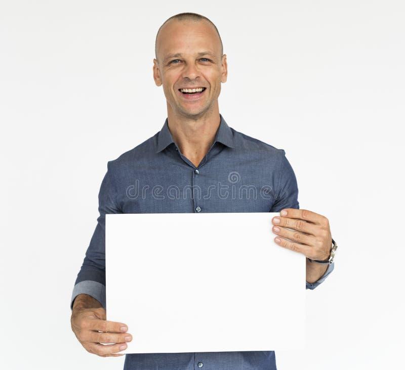 Mens Vrolijk het Glimlachen Portretconcept stock afbeeldingen