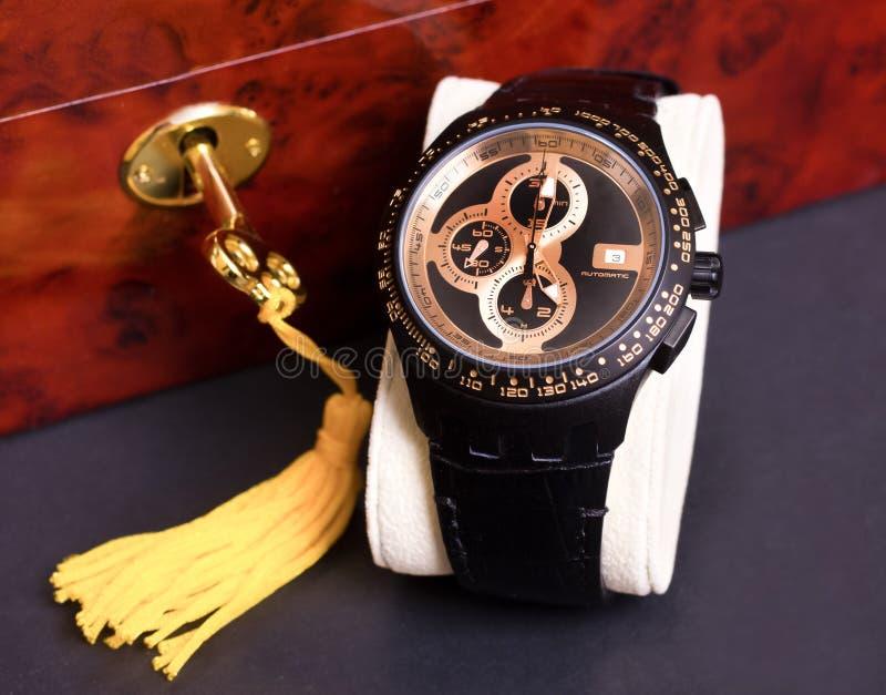 mens zegarek obrazy royalty free