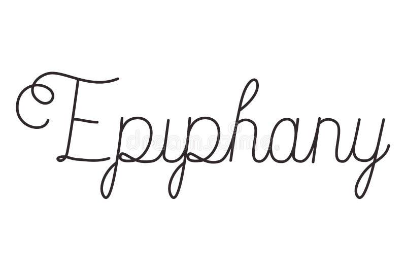 Mensagem da caligrafia da celebração do esmagamento ilustração royalty free
