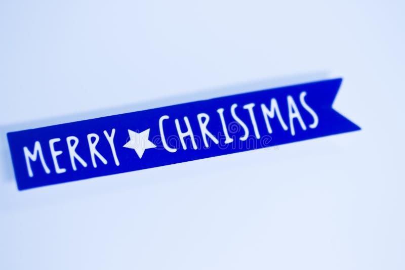 Mensagem dos cumprimentos do Feliz Natal imagens de stock royalty free