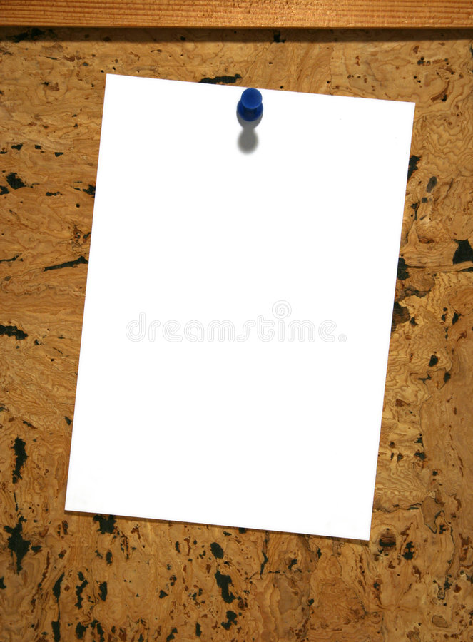 Mensagem em branco imagem de stock royalty free