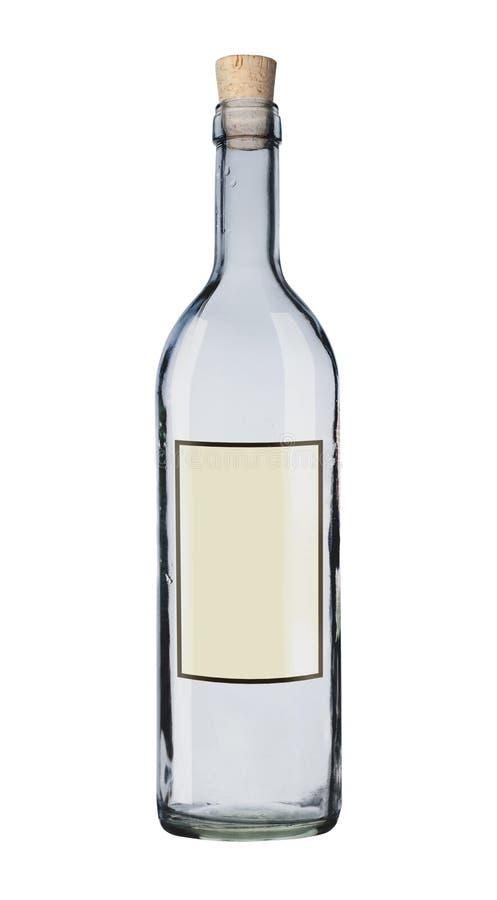 Mensagem em um frasco. foto de stock