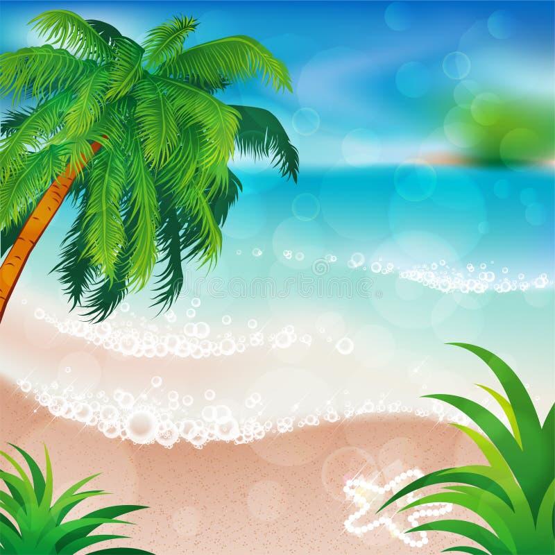 Download PRAIA DO VERÃO ilustração do vetor. Ilustração de relaxar - 29849058