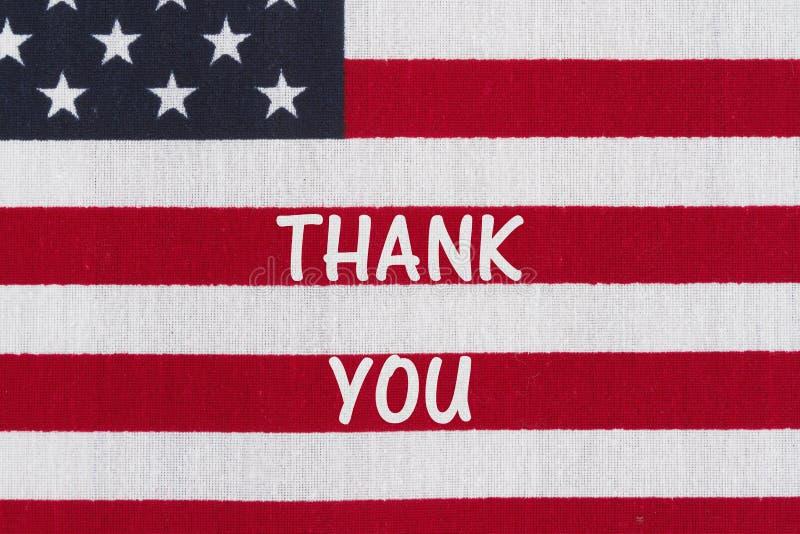 Mensagem patriótica dos EUA ilustração do vetor