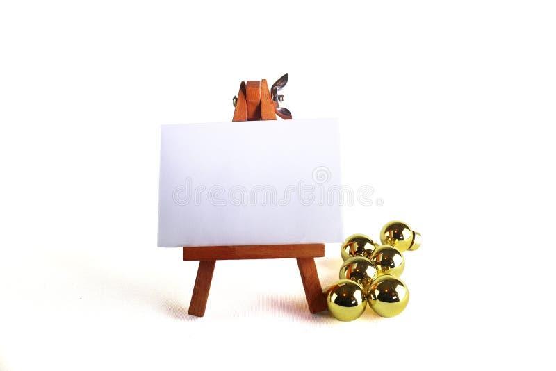 Mensagem vazia do Natal imagens de stock royalty free