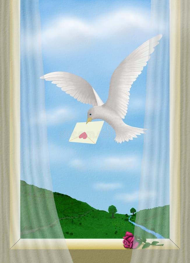 Mensaje 14A stock de ilustración